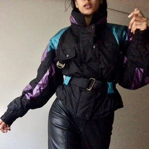 VTG Cropped Puffer